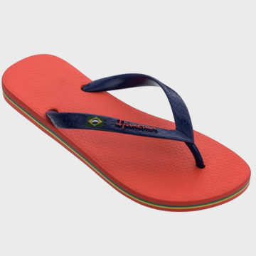 Ipanema - Tongs Classic Brasil II Rouge Bleu