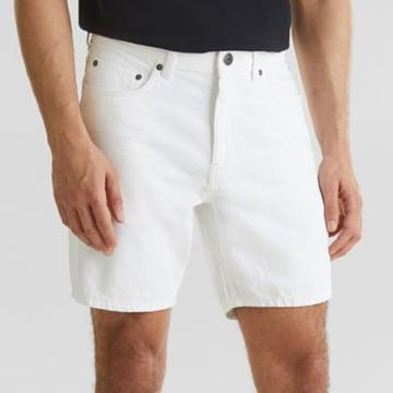 Esprit - Short Jean 040CC2C305 Blanc