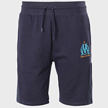 OM - Short Jogging Fan Bleu Marine