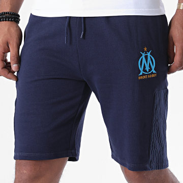 OM - Short Jogging Fan Bleu Marine