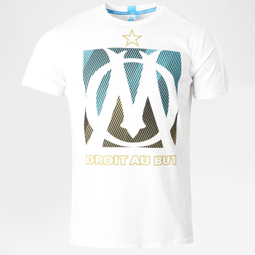 OM - Tee Shirt Big Logo Blanc