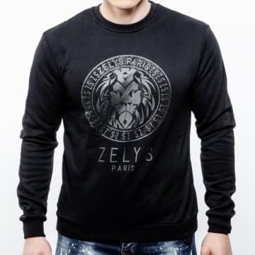 Zelys Paris - Sweat Crewneck Ocreed Noir