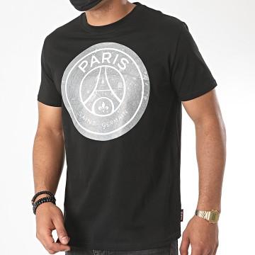 PSG - Tee Shirt Paris Saint-Germain Noir