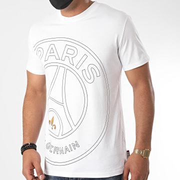 PSG - Tee Shirt Big Logo Blanc