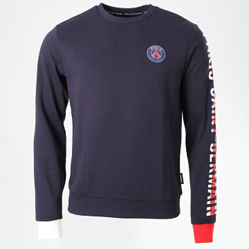 PSG - Sweat Crewneck Paris Saint-Germain Bleu Marine