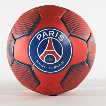 PSG - Ballon De Foot Metallic Rouge Bleu