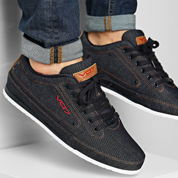 Vo7 - Baskets Yacht Denim Bleu Marine