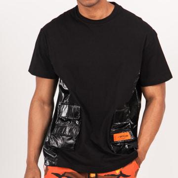 Sixth June - Tee Shirt Poche M115VTS Noir