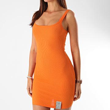 Sixth June - Robe Femme W4118KDR Orange