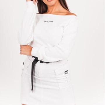 Sixth June - Pull Femme W4141VSW Blanc