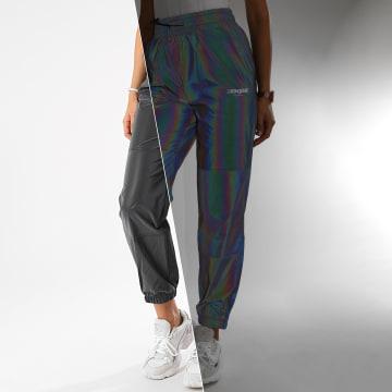 Sixth June - Pantalon Jogging Femme W4076CPA Réfléchissant Iridescent