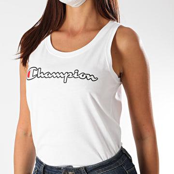 Champion - Débardeur Femme 112653 Blanc