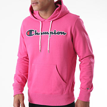 Champion - Sweat Capuche 214183 Rose