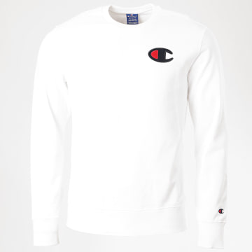 Champion - Sweat Crewneck 214189 Blanc