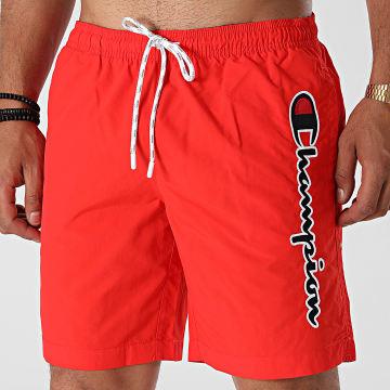 Champion - Short De Bain 214428 Rouge