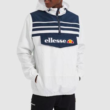 Ellesse - Coupe-Vent Col Zippé Fonti SHF09186 Blanc
