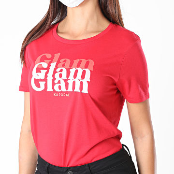 Kaporal - Tee Shirt Femme Blam Rouge