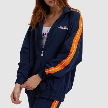Ellesse - Veste Zippée Femme A Bandes Bex SGE08449 Bleu Marine