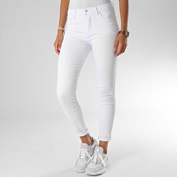 Girls Only - Jean Skinny Femme G2107 Blanc