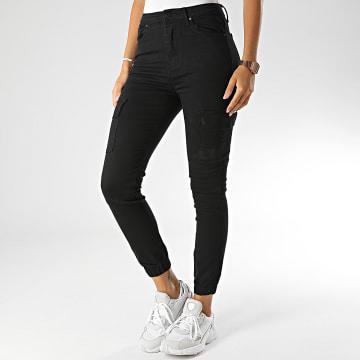 Girls Only - Jogger Pant Skinny Femme G2109 Noir