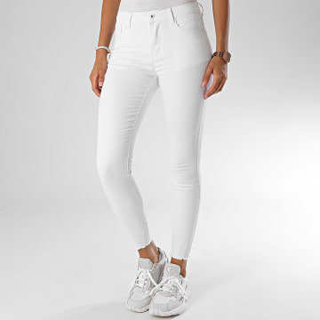 Girls Only - Jean Skinny Femme G2132 Blanc