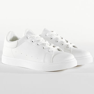 Classic Series - Baskets Femme ZK088 Bianco
