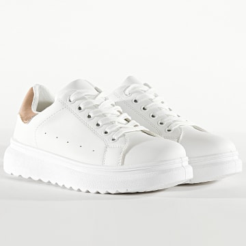 Classic Series - Baskets Femme CNT-21C White Champagne