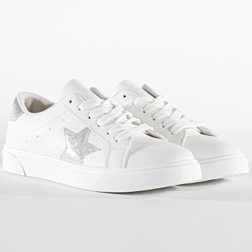 Classic Series - Baskets Femme XL17 White Silver
