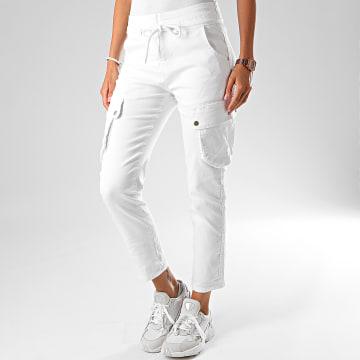 Girls Only - Jogger Pant Femme 32150 Blanc