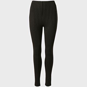 Girls Only - Pantalon Slim Femme 0055 Noir