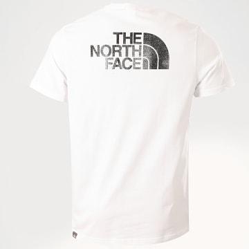 The North Face - Tee Shirt A4M6QYEN Blanc