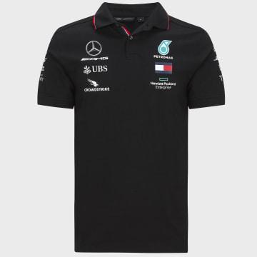 AMG Mercedes - Polo Manches Courtes AMG Mercedes Noir