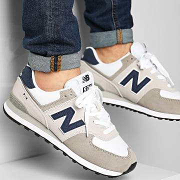 New Balance - Baskets Lifestyle 574 774921 Grey White