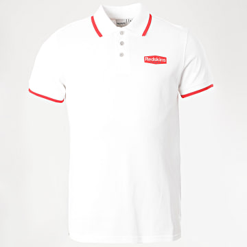 Redskins - Polo Manches Courtes Coxup Mew Blanc