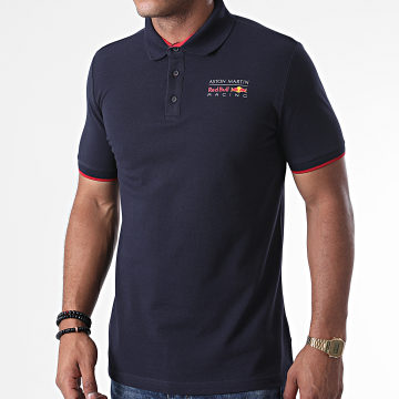 Red Bull Racing - Polo Manches Courtes Aston Martin x Red Bull Racing Bleu Marine