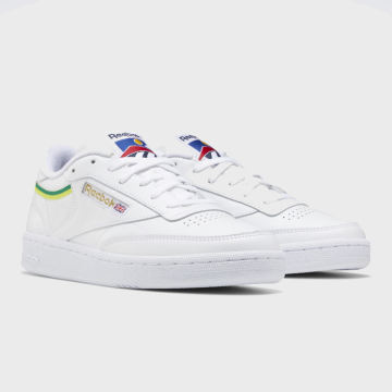 Reebok - Baskets Femme Club C 85 EG5984 White Hero Yellow White