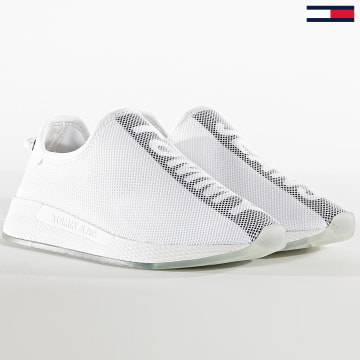 Tommy Jeans - Baskets Femme Technical 0983 Blanc