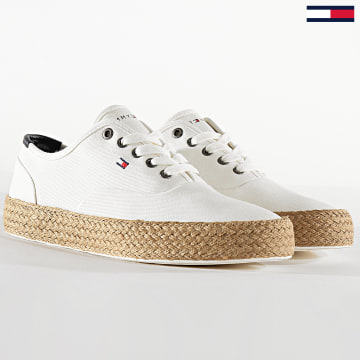 Tommy Hilfiger - Baskets Oxford Twill Just 2883 Ivory