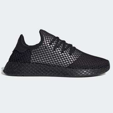 Adidas Originals - Baskets Deerupt Runner EG5355 Core Black Silver Metallic