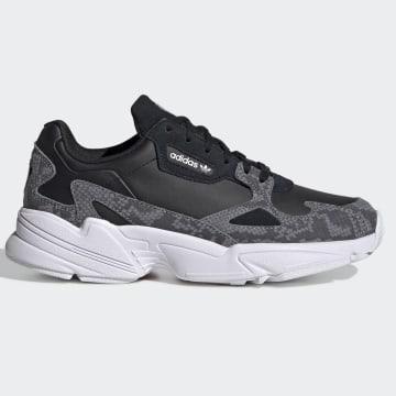 Adidas Originals - Baskets Femme Falcon FV4483 Core Black Footwear white