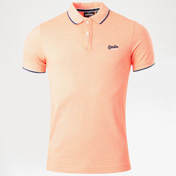 Superdry - Polo Manches Courtes Poolside Peche