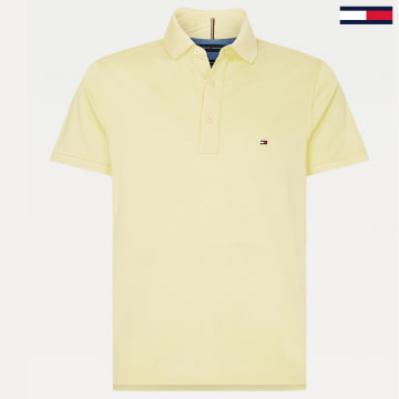 Tommy Hilfiger - Polo Manches Courtes MW0MW10764 Jaune