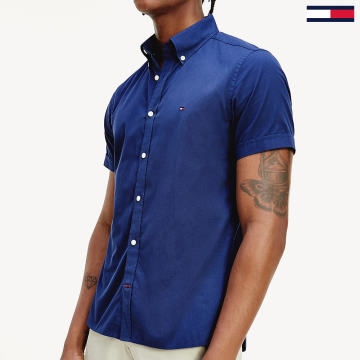 Tommy Hilfiger - Chemise Manches Courtes MW0MW13921 Bleu Marine
