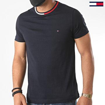 Tommy Hilfiger - Tee Shirt Cool Contrast 4299 Bleu Marine