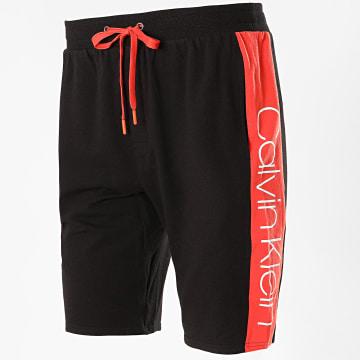 Calvin Klein - Short Jogging A Bande 1800 Noir