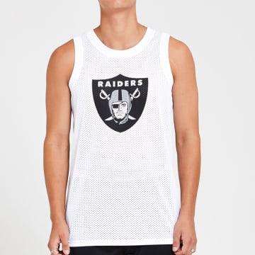 New Era - Débardeur Logo 12369699 Oakland Raiders Blanc