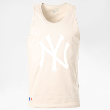 New Era - Débardeur Team Logo 12369815 New York Yankees Beige