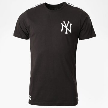 New Era - Tee Shirt A Bande Taping 12369821 New York Yankees Noir
