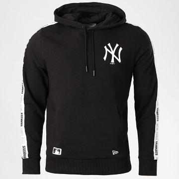 New Era - Sweat Capuche A Bande Taped 12369827 New York Yankees Noir