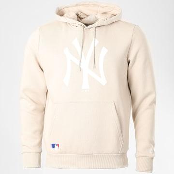 New Era - Sweat Capuche Team Logo 12369828 New York Yankees 12369828 Beige
